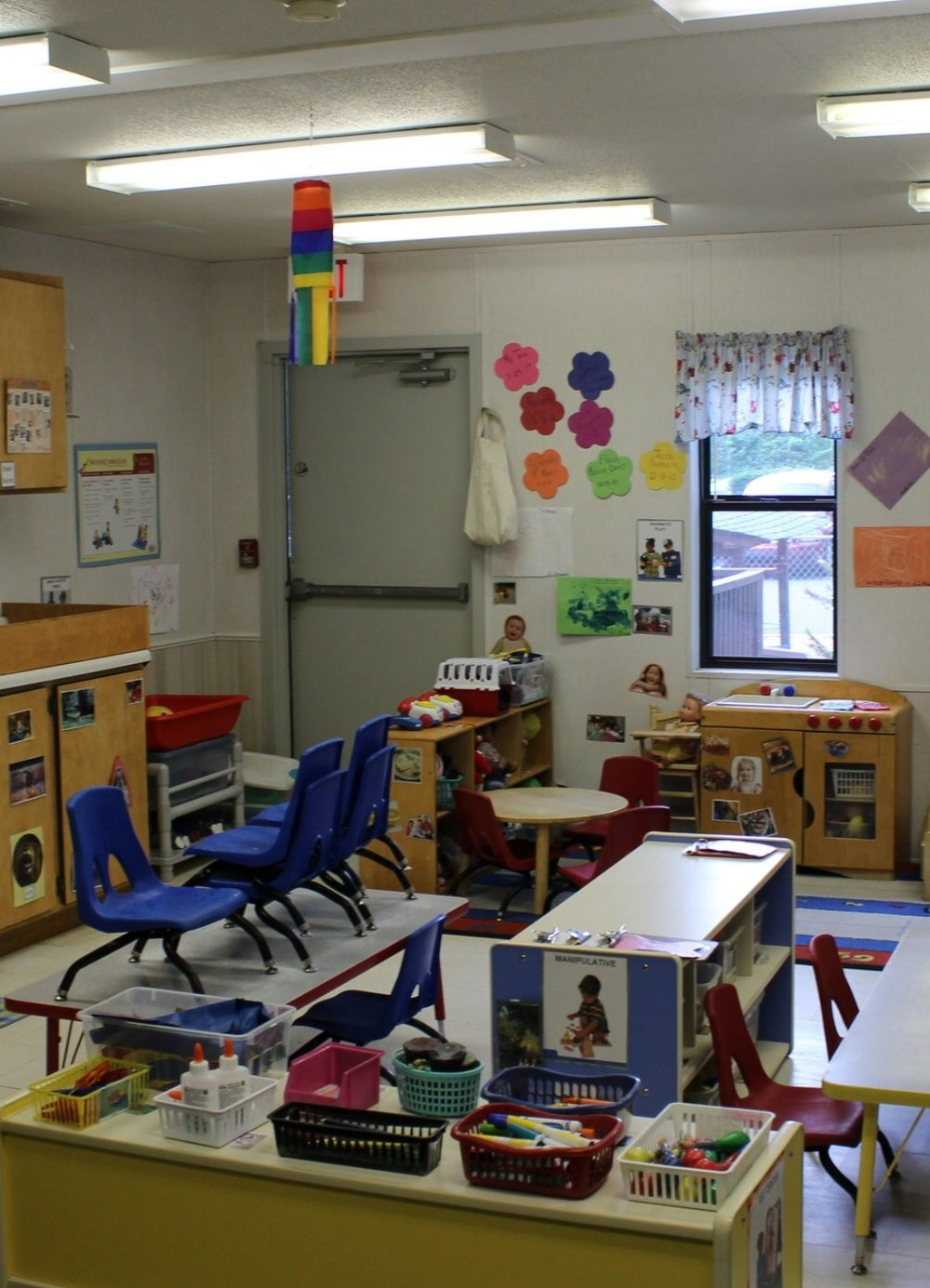 Two's Room - Tiny Treasures CDC uses The Creative Curriculum in our Two Year Old classroom. The classroom is divided into centers and learning areas. The children have access to the following learning centers daily: Books, Dramatic Play, Blocks, Art, Sand and Water, Manipulatives, Music and Movement and Outdoors.The children are introduced to colors, shapes, letters and numbers through appropriate activities and games.
