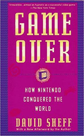 "Game Over - HOW NINTENDO CONQUERED THE WORLD More American children recognize Super Mario, the hero of one of Nintendo's video games, than Mickey Mouse. The Japanese company has come to earn more money than the big three computer giants or all Hollywood movie studios combined. Now Sheff tells of the Nintendo invasion–a tale of innovation and cutthroat tactics.""Irresistible. . . almost as hypnotic as a successful video game."" – Christopher Lehmann–Haupt, The New York Times""For business moguls who someday want to corner their markets, this book is a must–read… Game Over is about as readable as a business book can be.."" –Houston Chronicle""Game Over…is ultimately less absorbing than 'Tetris,' but not by much."" –Wall Street Journal""A cross between Barbarians at the Gate and The Soul of the New Machine."" – Chicago Tribune""Writing with the playful pluck of Mario, the little protagonist of the Super Mario Bros. games, Sheff unfolds an engrossing tale.""– People""Mr. Sheff is comprehensive and instructive…The game might be over for this generation of technology, but the future of computer entertainment is still wide open for entrepreneurs as daring as Hiroshi Yamauchi was in the early 1980's. Whoever those future billionaires are, they would do well to read this book.""– The New York Times Review of Books""Sheff writes with an almost Dickensian tastiness."" – Times of London""Finally, a book as provocative as its title, Game Over is a detailed, fascinating, and instructive case study of the management practices and corporate culture behind Nintendo's extraordinary success. Read it and you'll never again discuss this Japanese giant as a mere toymaker…. Game Over is a fine and worthwhile read. Don't wait until your Game Boy burns out its batteries from too much Tetris playing to check it out."" – Fortune""In his beguiling Game Over, David Sheff, a reporter who spent two years interviewing Nintendo executives in Japan, Europe and the United States, makes it dramatically clear why the company seems so promising. Game Over tells a remarkable series of stories…. And maybe that is its hidden message. Maybe that is what makes it, at its best, almost as hypnotic as a successful video game."" – New York Review of Books"