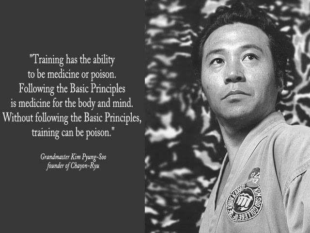 Grandmaster Kim Soo Philosophy