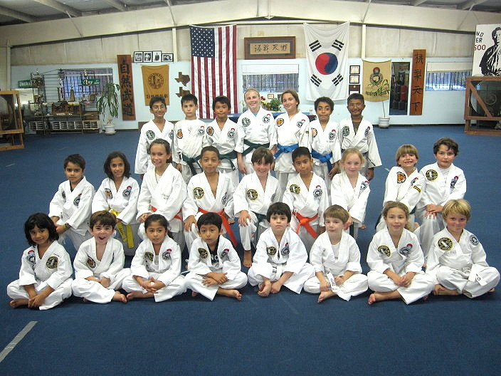 Kids Class Group Photo