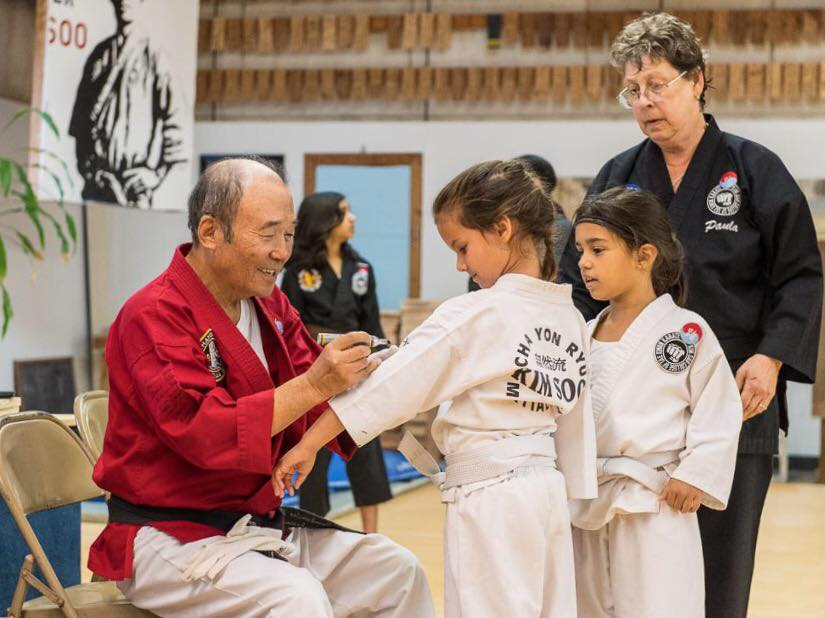 Kids Class With Grandmaster Kim Soo