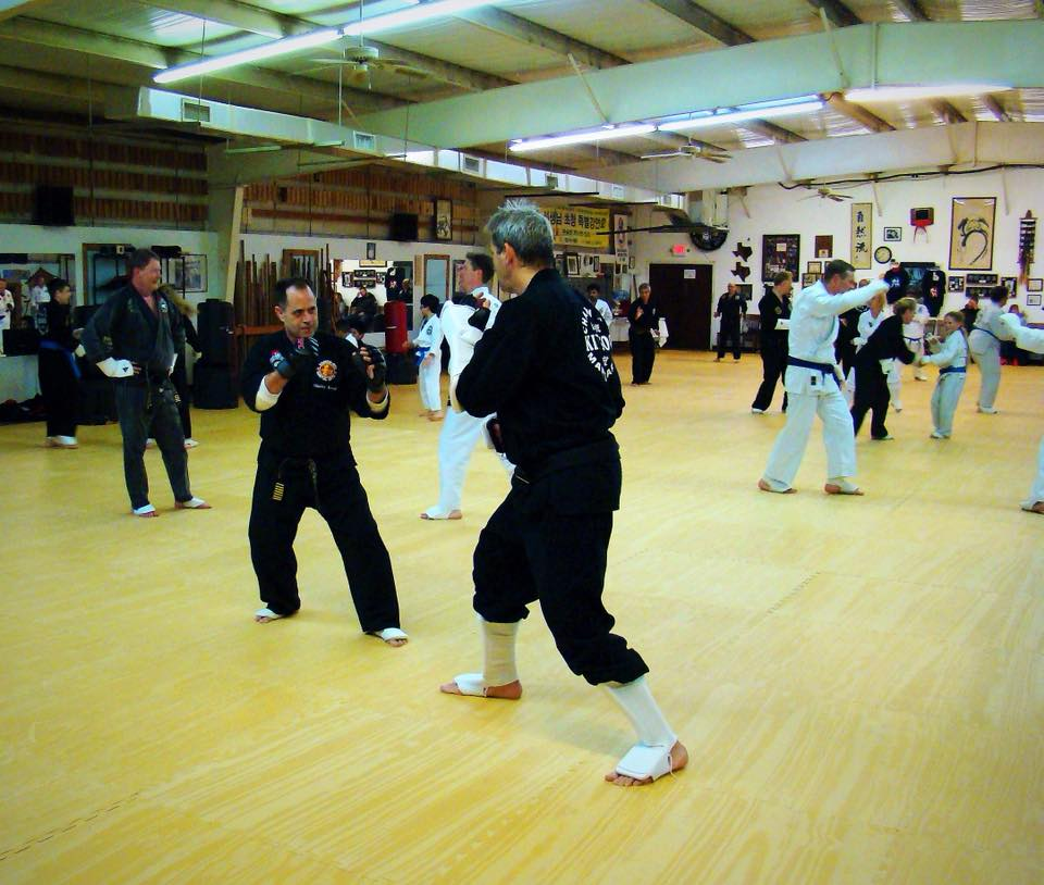 Adults Class Sparring