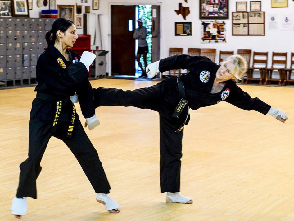 kimberly and darlene sparring.jpg
