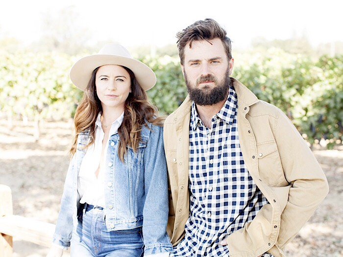 Kim and Tyler Elwell - Halcyon wines • Napa, California  Santa Barbara-bred Tyler and Napa Valley-native Kim launched Halcyon Wines in 2013 after Tyler discovered an intriguing Cabernet Franc vineyard in Paso Robles, California - a varietal he always dreamed of working with. For the past five years, Tyler has been creating some of the most critically acclaimed wine as Assistant Winemaker at world-renowned Tablas Creek Vineyard. Tyler now works as Assistant Winemaker at Provenance in Napa Valley. His wife Kim is a digital marketing and public relations expert with over seven years of experience serving celebrity, hospitality, and food/wine clients throughout the Bay Area and beyond - most notably managing Bob Weir's (Grateful Dead) recording studio, TRI Studios in Marin, California for over three years. Kim works full time with a boutique agency, The James Collective, in Sonoma. Together the Elwell's combine their deep-rooted love of wine with expertise in both the creation and marketing of Halcyon Wines, a nouveau take on California Cabernet Franc.