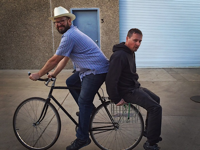 Mike Roth and Craig Winchester - Lo-Fi Wines • Lompoc. California  Lo-Fi is a partnership between two lifelong friends who believe in hand crafted honest wines that are made for every day drinking. Wines to be enjoyed not to be collected. Easy drinking lower alcohol wines made to pair well with all types of foods, from pizza to paté.  We believe in neutral barrels, native yeasts, little to no sulfur additions, and no adjustment of pH. We love whole cluster fermentation. We adore carbonic maceration . We embrace a nothing added, nothing taken away philosophy that gives birth to wines that are young, vibrant and alive.  But in all reality Lo-Fi is less about what it is and more about what it is not.  It is not over manipulated. It is not over extracted. It is not over ripe and it is not over priced.  Less is more.
