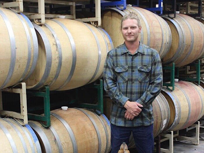 Ryan Roark - Roark Wine Company • Buellton, California  Roark Wine Co. was founded in 2009 by Ryan Roark. RWC focuses on making small-batch wines that showcase variety, vintage, and place. To best represent each harvest, we make our wine as unadulterated as possible: in neutral vessels, with all native fermentation, and no additions apart from a minimal amount of sulfur.  Ryan started his journey with a fascination for farming; he studied plant pathology and microbiology at Texas A&M where he was able to take part in an agricultural exchange program that placed him with a small family-owned winery located in the Loire Valley. There he worked the land and learned the skills that he would take with him throughout France, New Zealand, and California.  What began as a 100 case Chenin Blanc project has evolved into a small grape growing and winemaking operation. Ryan and his small team farm a handful of vineyards throughout Santa Barbara County while also sourcing grapes from trusted growers to produce about 1,750 cases of wine per year.