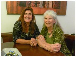 Kathleen Adams & Martie Leys