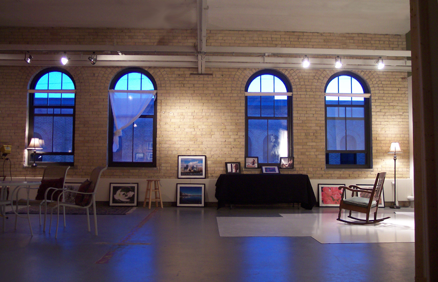 Brick and arch windows