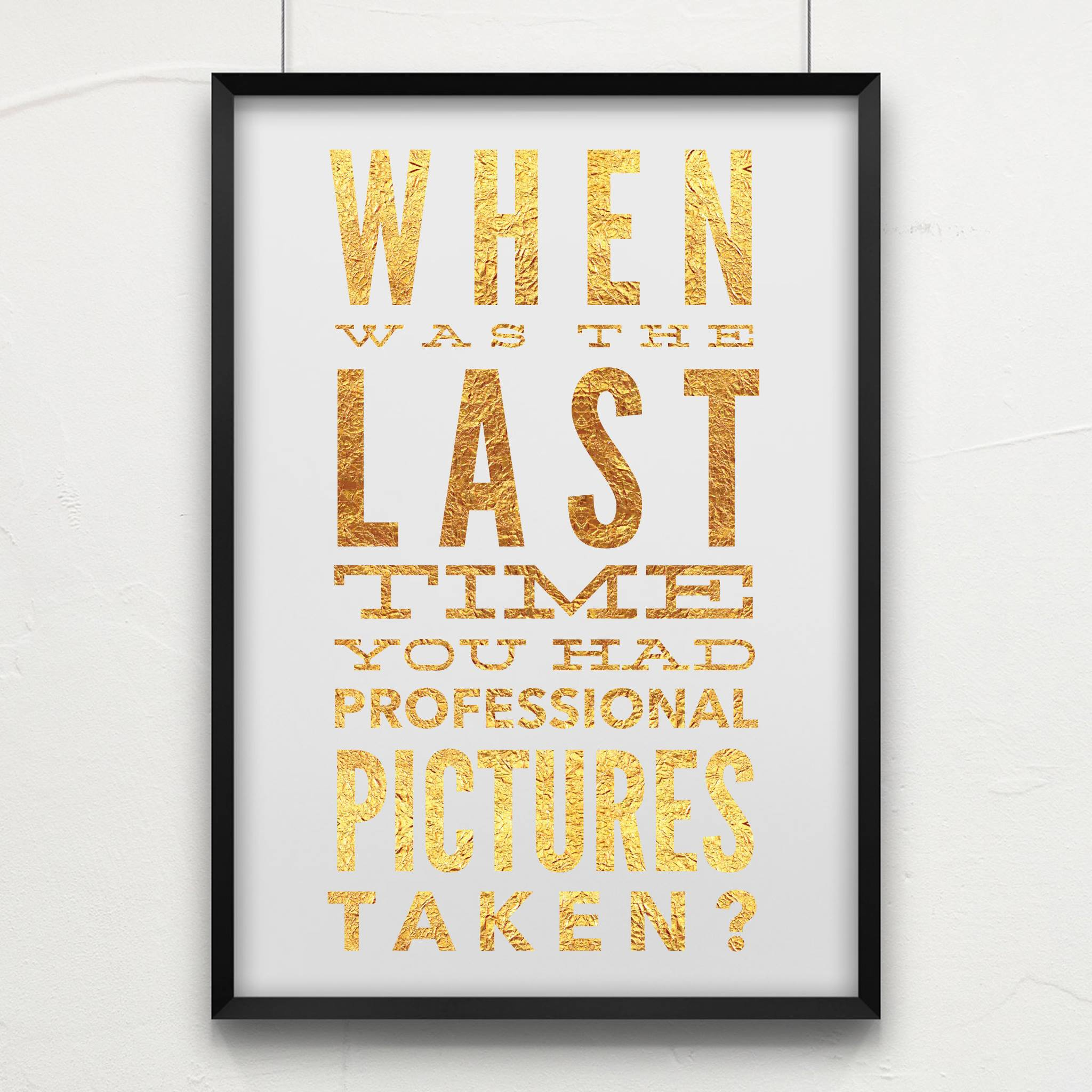 Why you should have professional photographs taken