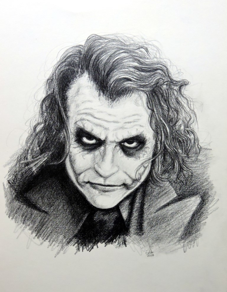 The Joker, fan art.