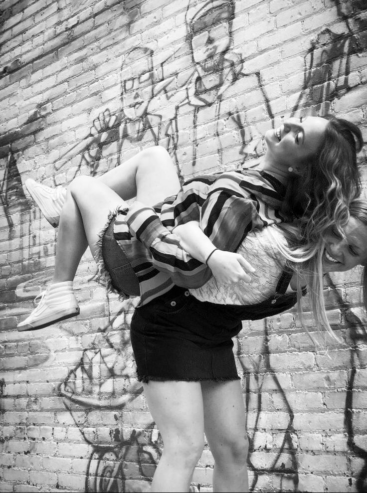 Erika Hansen - work wife & peppiest cheerleadermodel:@ehansen12