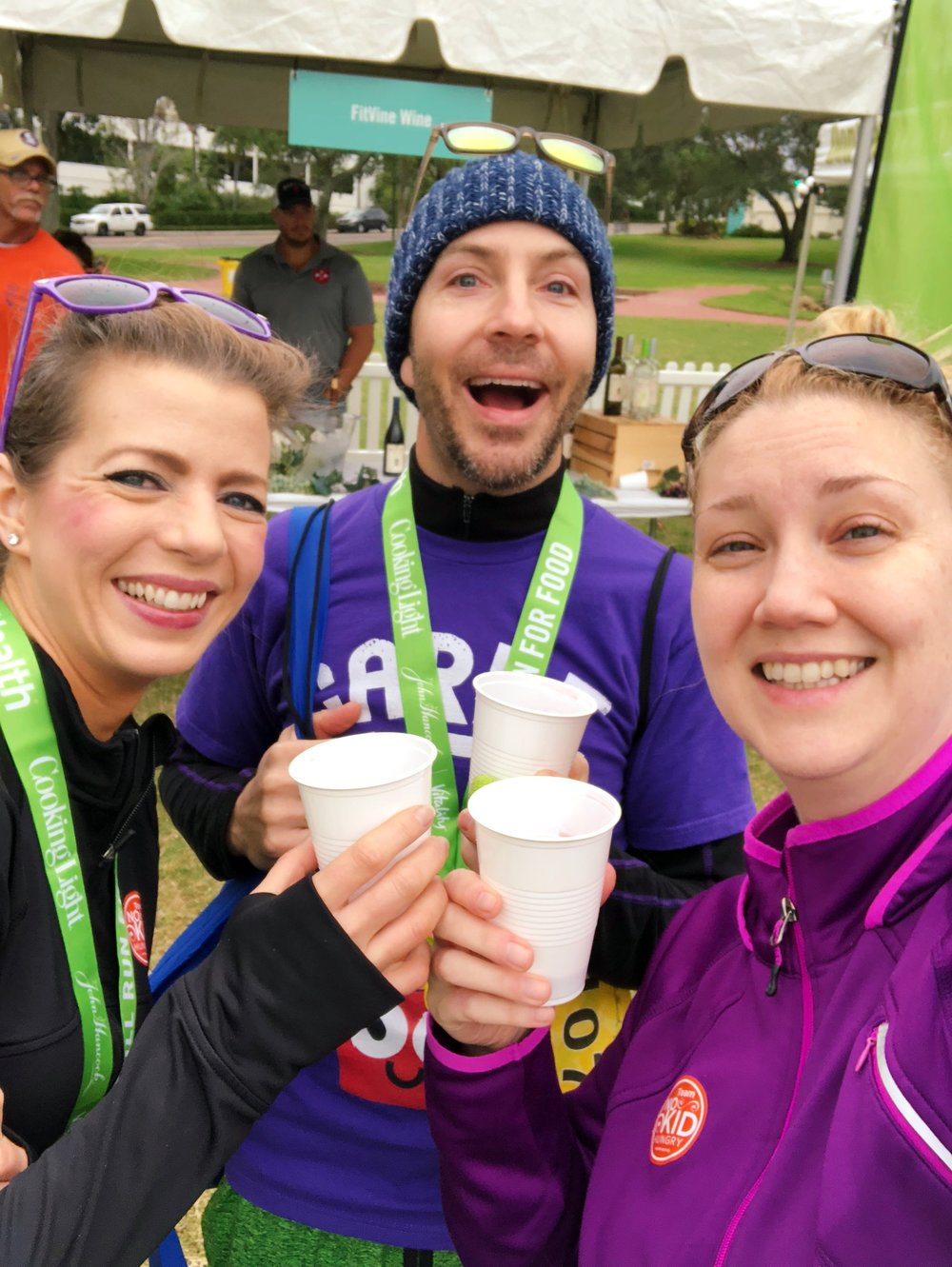 WINE at a 5K? Yes, please!