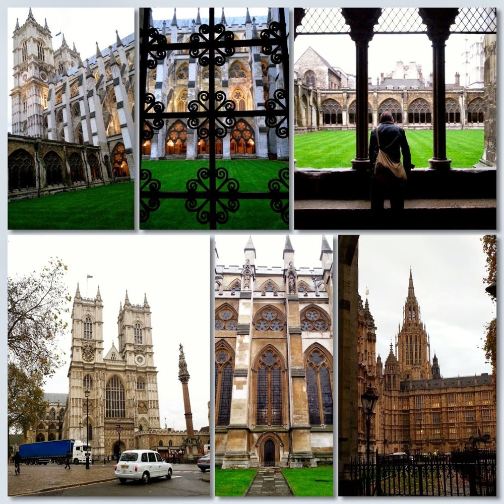 Westminster Abbey -- definitely a must-see.