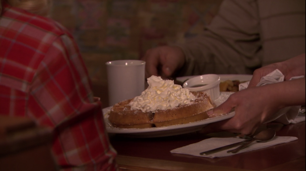 S2E20 Why would anyone ever eat anything other than breakfast food.PNG