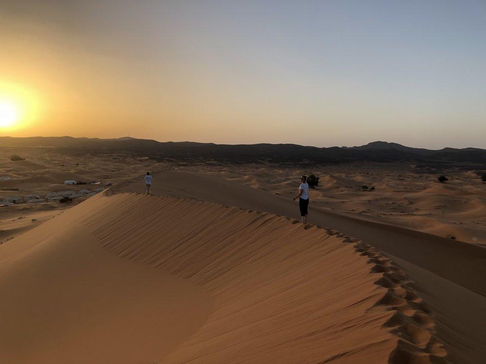 The Sahara, yeah it's GORGEOUS