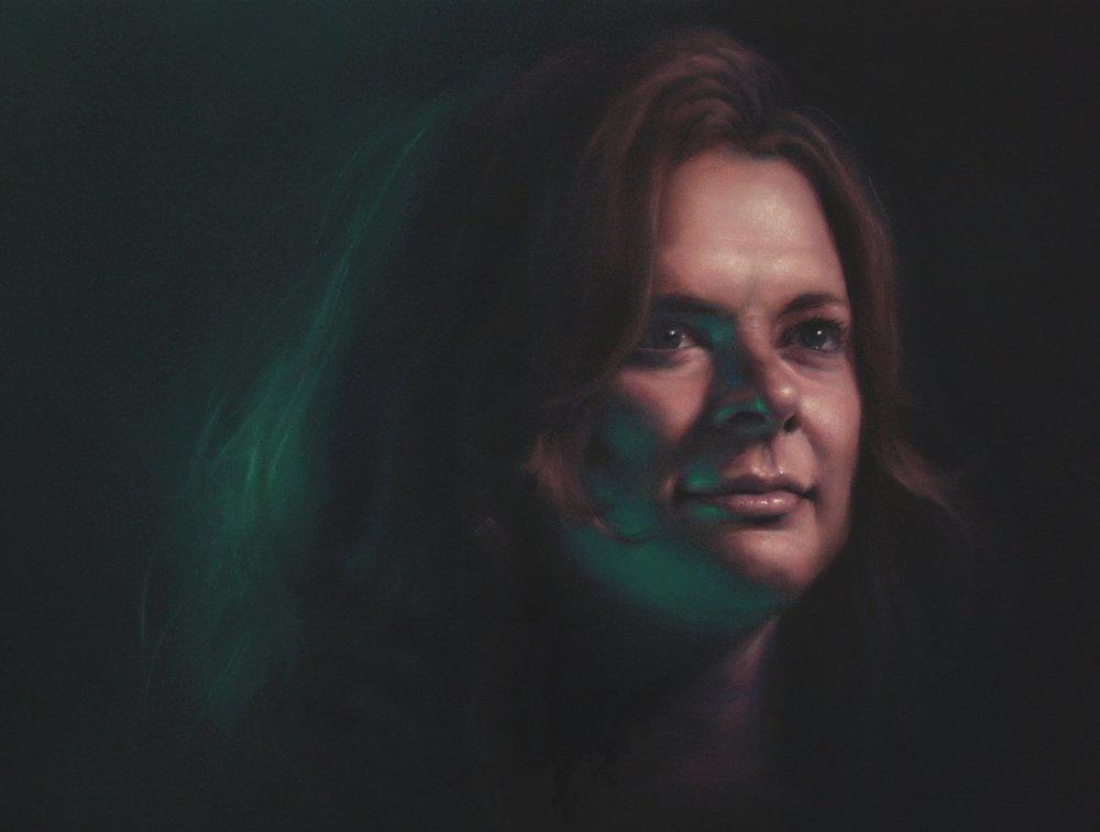 Portrait by  Michael Simms .