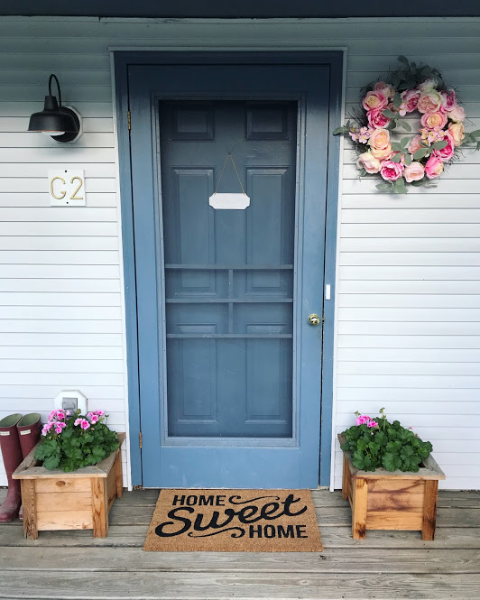 3 Simple Steps To Freshen Up Your Front Door For Summer Lucy Lemonade