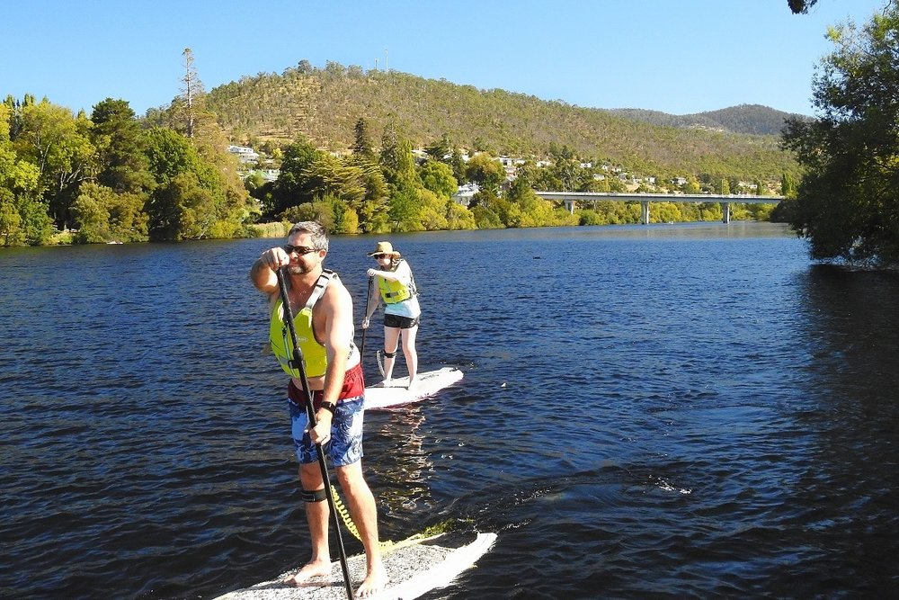 Stand up Paddle Boarding  - Personalised Stand Up Paddle Board instruction. Learn to SUP on the still waters of the Derwent River.