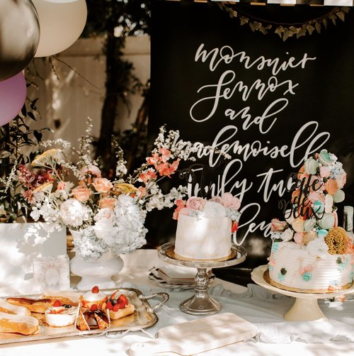 Pastel French Themed Birthday Party -