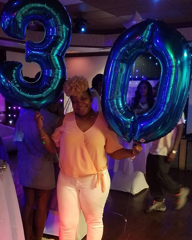 March 23rd, 1989 a star was born. If I had to describe today, well yesterday, I would say BLESSED. To my family and friends that made my #Dirty30 #golden30 #30andfabulous ... I can't thank you enough for making my birthday memorable. A surprise party for the biggest bag of water = tears of joy! I cannot thank you all enough. Tomorrow I'm flooding your timeline 😂 But tonight I'm going to sleep with the biggest smile on my face ❤