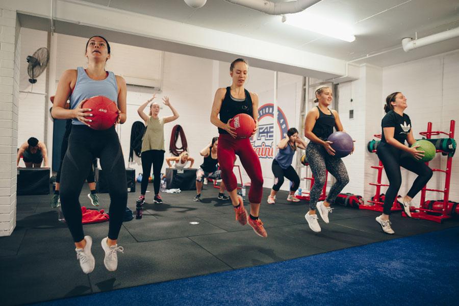 Brisbane Sweatathlon - Sunday 29 October in NewsteadBack to back classes at F45 Training Newstead, Inspirecycle & Harlow Hot Pilates & Yoga
