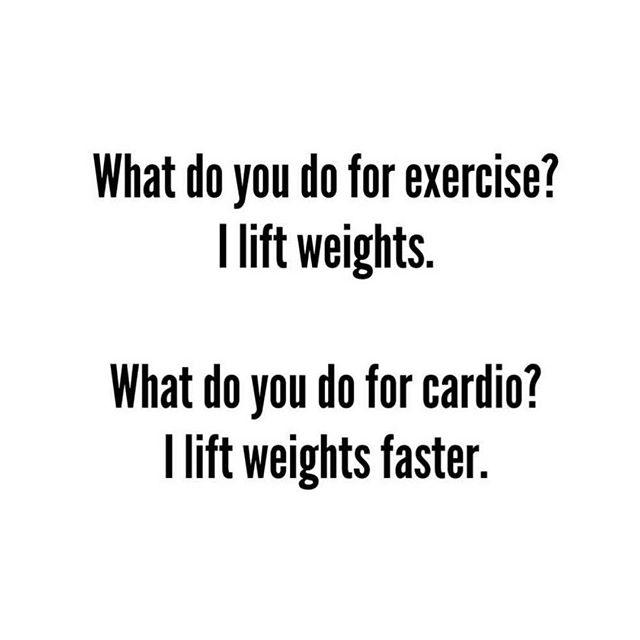 Cardio is hardio🤦🏼♀️