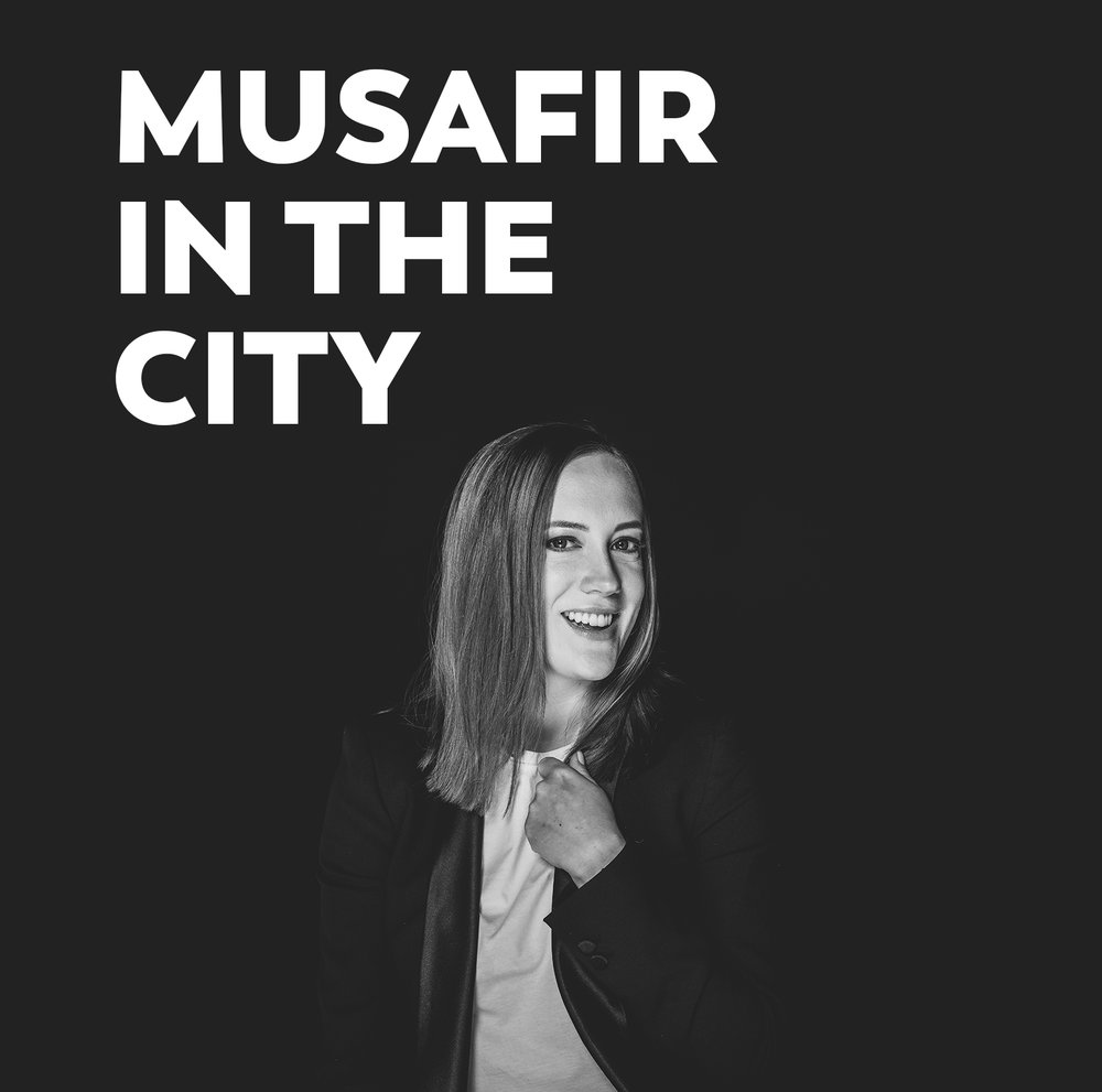 - Hosted by Anna Roberts on weekdays from 4-5pm, 'Musafir in the City' explores the emirate of Sharjah, interviewing and profiling the places, people and events that make the emirate the region's cultural core.