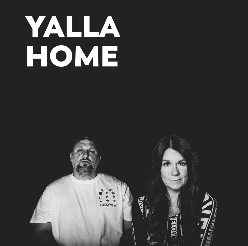- Hosted on weekdays from 5-8pm by Big Hass and Ana Schofield, 'Yalla Home' brings the latest news, lifestyle chat and tongue-in-cheek trending stories to entertain listeners on their drive home.