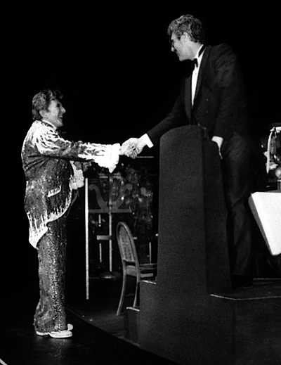 Bo with Liberace