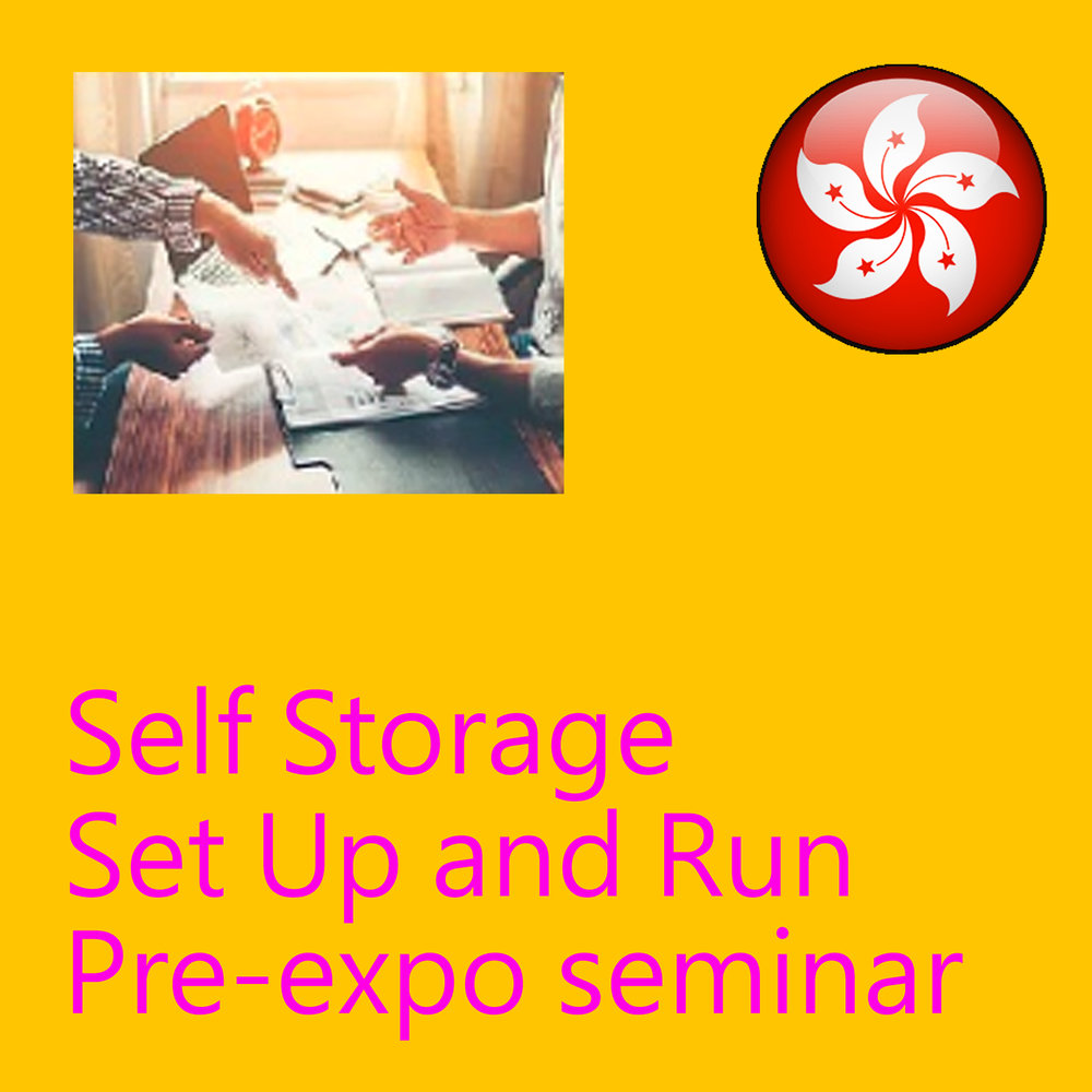 May 16 - Self Storage Set Up and Run Pre-expo Seminar