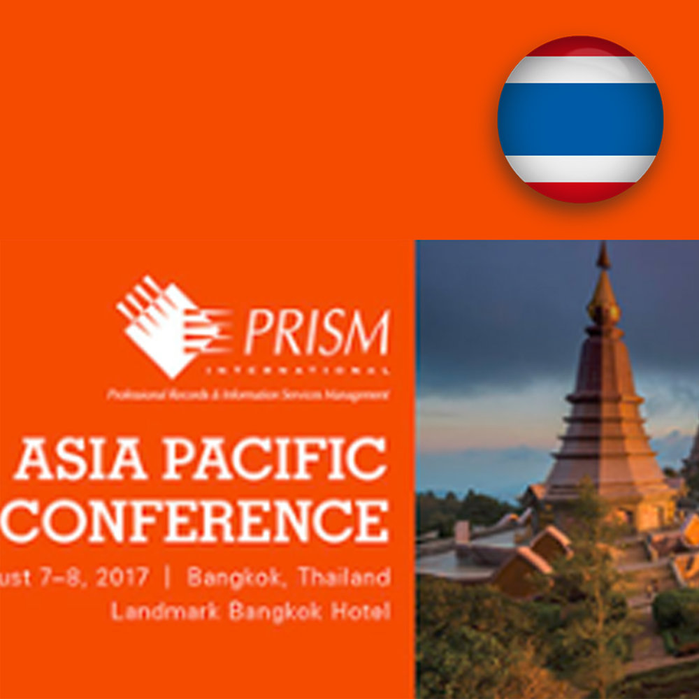 Aug 7-8 - PRISM 2017 Asia Pacific Conference
