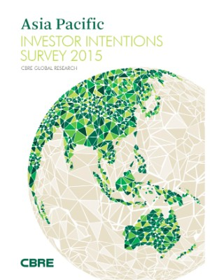CBRE - Asia Pacific Investor Intentions Survey 2015