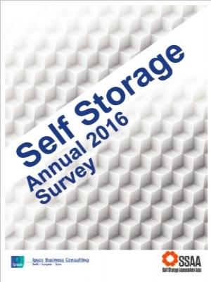 Ipsos Business Consulting - Self Storage Annual Survey 2016