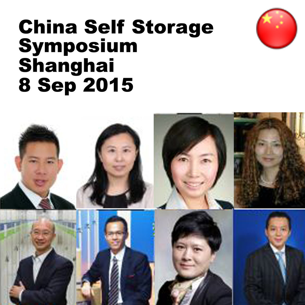 Sep 8 - China Self Storage Symposium