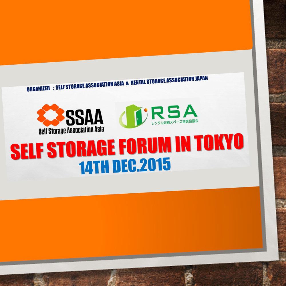 Dec 14 - Self Storage Forum in Tokyo