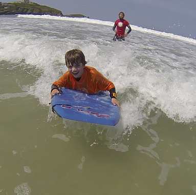 kids club bodyboarding