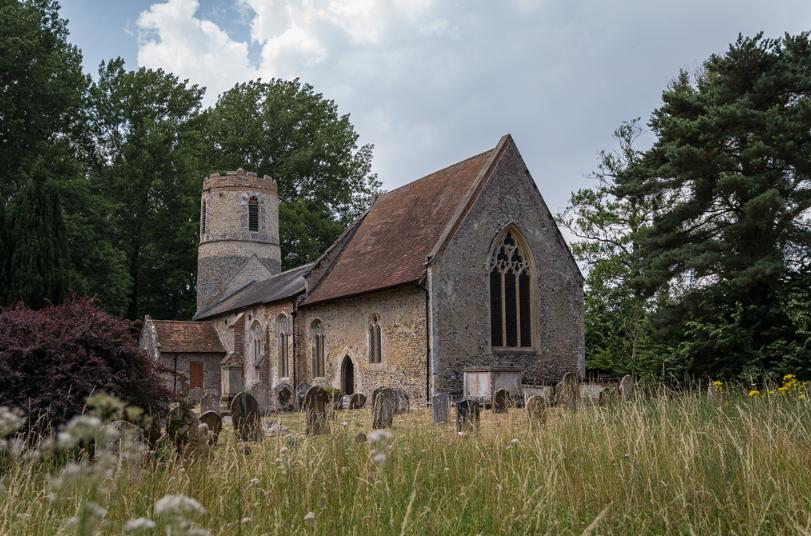 Church wedding, Suffolk