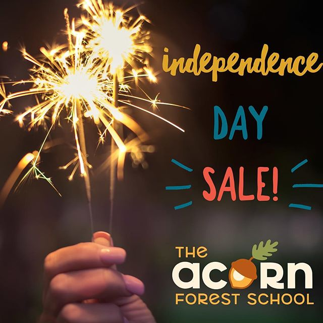 💥 Independence Day Deal! 💥  From now through Sunday 7/8 save 33% on registration for our engineering classes!  Pick one or more from these fun themes! 💥Chemical Reactions and Power Boats: 7/21 💥Designing our own Water Dump Game 7/28 💥Catapults and Target Practice: 8/4 💥Building Shelters: 8/11  Regular price $15, SALE price $10!  DON'T FORGET about our free trial class this Saturday, 7/7! 🌱🍃🌿 www.theacornforestschool.org/register