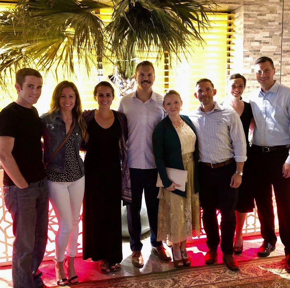 Post-Iftar at the Art Rotana Hotel