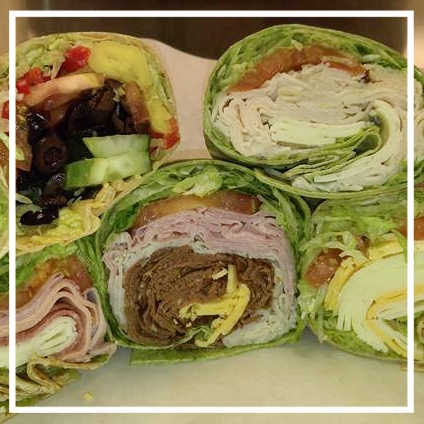 Wrap Tray - $5.49 per person