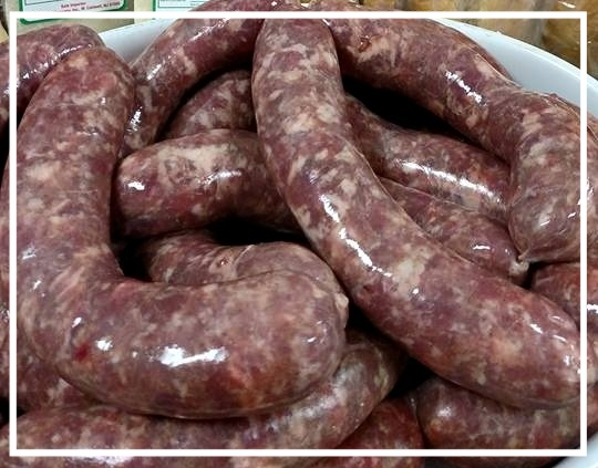 Homemade Sausage - $3.99/lb.