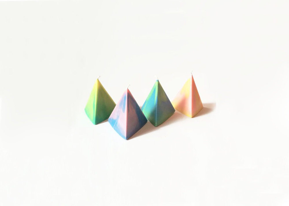 Pyramid Candles - from $20