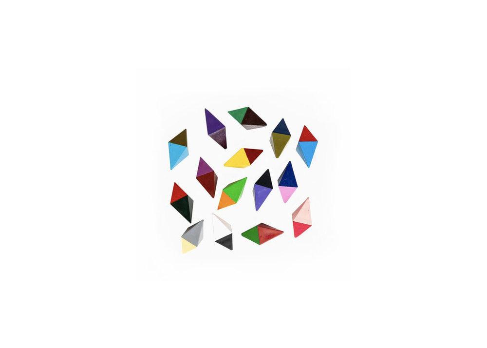 Octehedron Crayons - $15