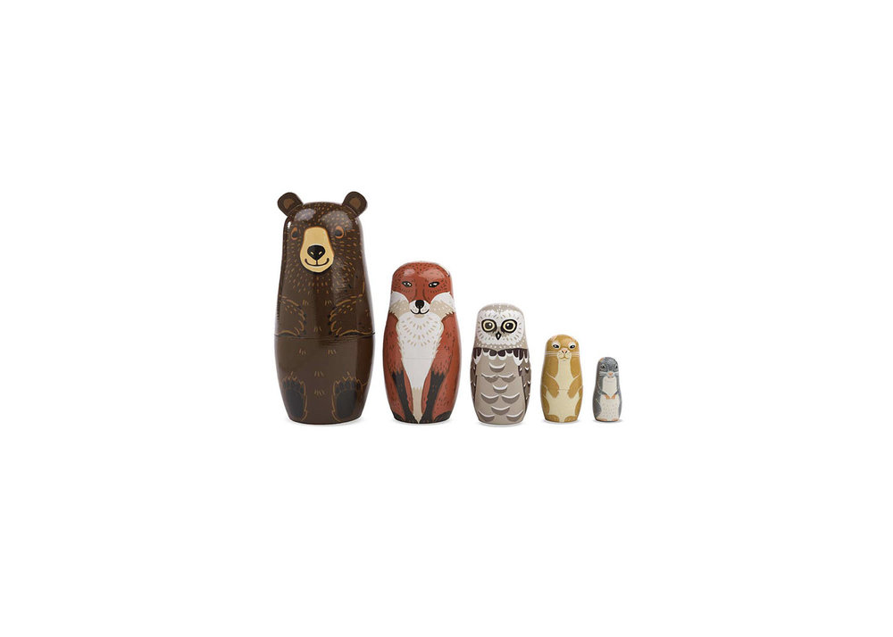Woodland Nesting Animals - $28