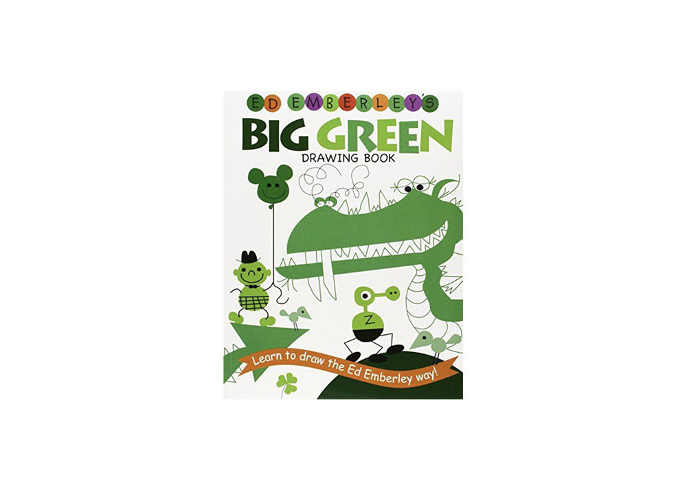 Big Green Drawing Book - $10.31