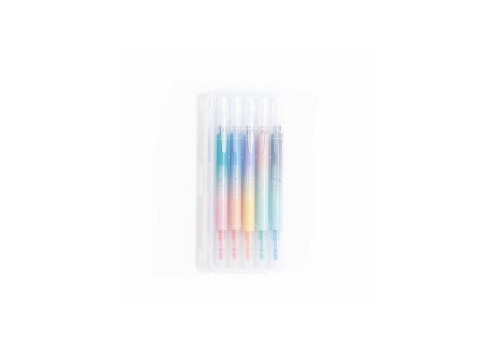 Gradient Markers - $18