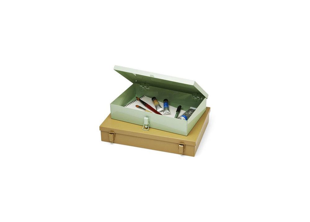 Metal Storage Boxes - $115