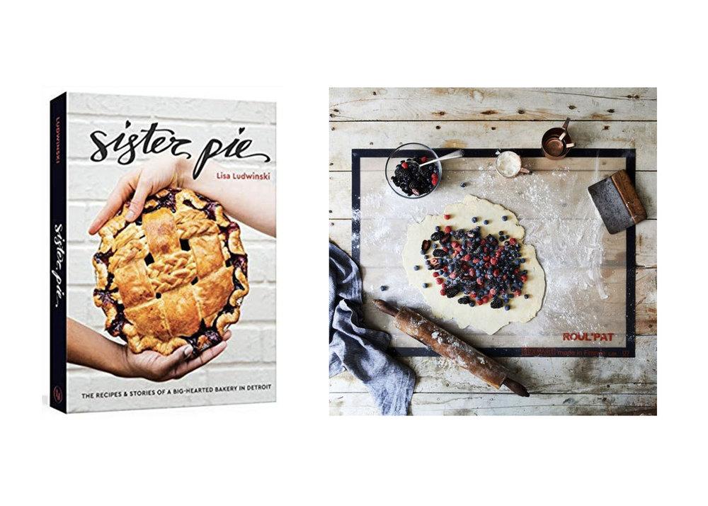 Sister Pie cookbook  +  Non-stick pastry mat