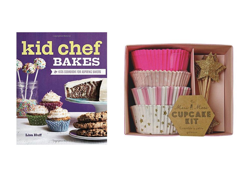Kid Chef Bakes  +  Cupcake Kit