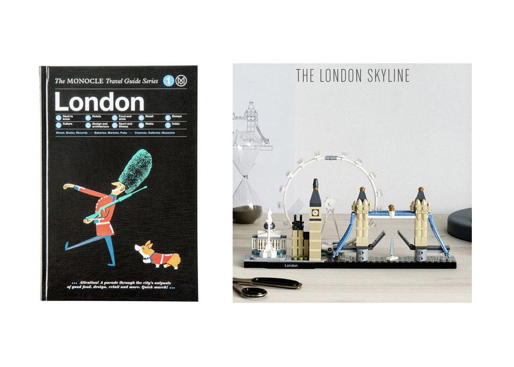 London Travel Guide  +  London Lego Set
